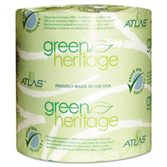 APM276GREEN - Green Heritage Bathroom Tissue