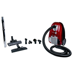 ATRAHC-1 - Atrix InternationalTurbo Red Vacuum with HEPA filtration