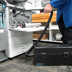 ATRVACOMEGASLF - Atrix International - Omega Supreme Plus HEPA Electronic Vacuum