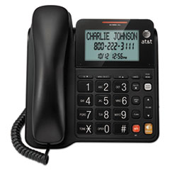 ATTCL2940 - ATT® CL2940 Corded Speakerphone with Large Tilt Display