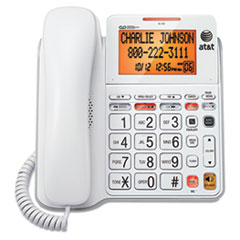 ATTCL4940 - AT&T® CL4940 Corded Speakerphone with Digital Answering System