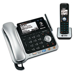 ATTTL86109 - AT&T® TL86109 Two-Line DECT 6.0 Phone System with Bluetooth® and Digital Answering System