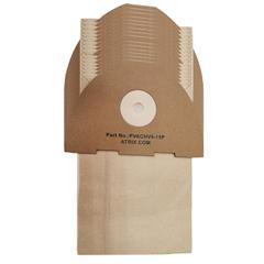 ATRPVACHV6-15P - Atrix International - Ergo lite Hip Vacuum Paper Filter Bags, 15/PK