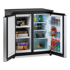 AVARMS550PS - Avanti 5.5 Cu. Ft. Side by Side Refrigerator/Freezer