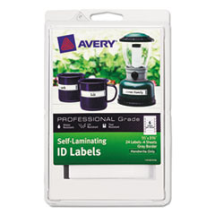 AVE00747 - Avery® Durable Self-Laminating ID Labels - 4 x 6 Sheets