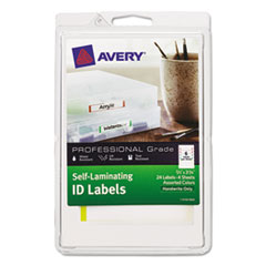 AVE00748 - Avery® Durable Self-Laminating ID Labels - 4 x 6 Sheets