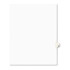 AVE01043 - Avery® Individual Legal Dividers Side Tab