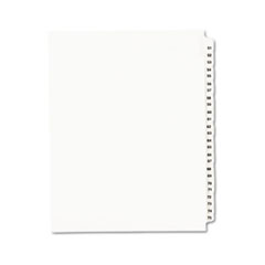 AVE01332 - Avery® Individual Legal Dividers Side Tab