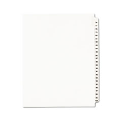 AVE01333 - Avery® Individual Legal Dividers Side Tab