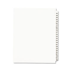 AVE01334 - Avery® Individual Legal Dividers Side Tab