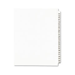 AVE01336 - Avery® Individual Legal Dividers Side Tab
