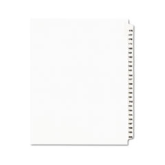 AVE01337 - Avery® Individual Legal Dividers Side Tab