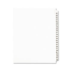 AVE01338 - Avery® Individual Legal Dividers Side Tab