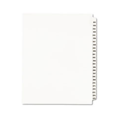 AVE01340 - Avery® Individual Legal Dividers Side Tab