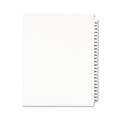 AVE01341 - Avery® Individual Legal Dividers Side Tab