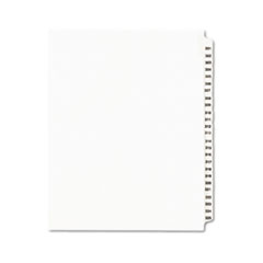 AVE01342 - Avery® Individual Legal Dividers Side Tab