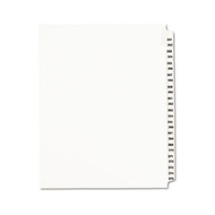 AVE01344 - Avery® Individual Legal Dividers Side Tab