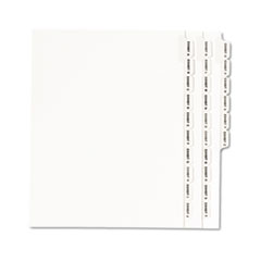 AVE01370 - Avery® Individual Legal Dividers Side Tab