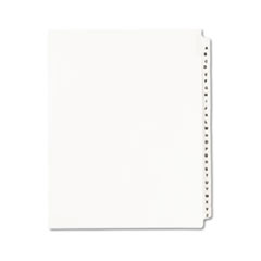 AVE01400 - Avery® Individual Legal Dividers Side Tab