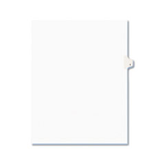 AVE01409 - Avery® Individual Legal Dividers Side Tab