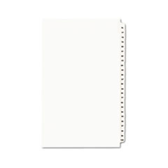 AVE01433 - Avery® Individual Legal Dividers Side Tab