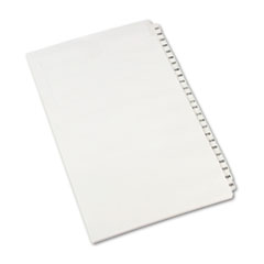 AVE01434 - Avery® Individual Legal Dividers Side Tab