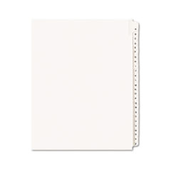 AVE01700 - Avery® Collated Legal Dividers Allstate® Style Side Tab
