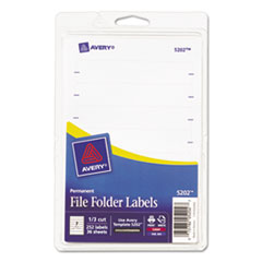 AVE05202 - Avery® Print or Write File Folder Labels