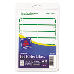 AVE05203 - Avery® Print or Write File Folder Labels