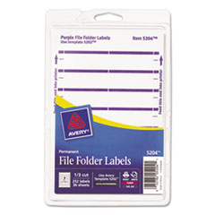 AVE05204 - Avery® Print or Write File Folder Labels