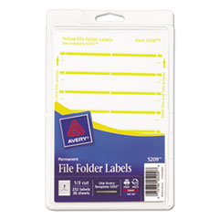 AVE05209 - Avery® Print or Write File Folder Labels