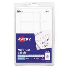 AVE05428 - Avery® Removable Self-Adhesive Multi-Use ID Labels