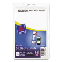 AVE05452 - Avery® Removable Self-Adhesive Multi-Use ID Labels