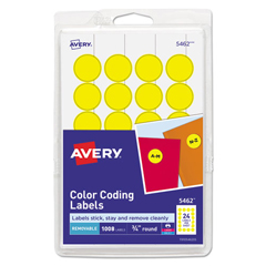 AVE05462 - Avery® Print or Write Removable Color-Coding Labels
