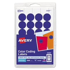 AVE05469 - Avery® Print or Write Removable Color-Coding Labels
