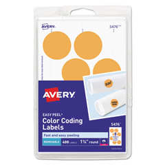 AVE05476 - Avery® Print or Write Removable Color-Coding Labels
