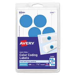 AVE05496 - Avery® Print or Write Removable Color-Coding Labels