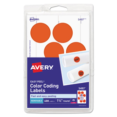 AVE05497 - Avery® Print or Write Removable Color-Coding Labels