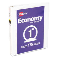AVE05711 - Avery® Economy View Binder w/Round Rings