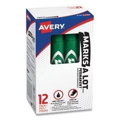 AVE07885 - Avery® Marks-A-Lot® Regular Chisel Tip Permanent Marker