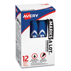 AVE07886 - Avery® Marks-A-Lot® Regular Chisel Tip Permanent Marker