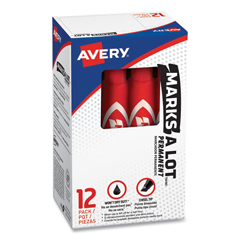 AVE07887 - Avery® Marks-A-Lot® Regular Chisel Tip Permanent Marker