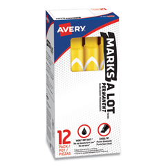 AVE08882 - Avery® Marks-A-Lot® Large Chisel Tip Permanent Marker