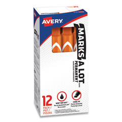AVE08883 - Avery® Marks-A-Lot® Large Chisel Tip Permanent Marker