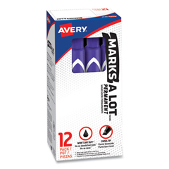 AVE08884 - Avery® Marks-A-Lot® Large Chisel Tip Permanent Marker
