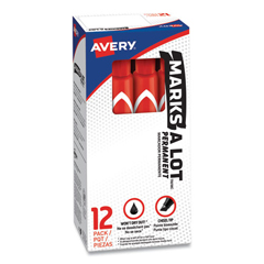 AVE08887 - Avery® Marks-A-Lot® Large Chisel Tip Permanent Marker