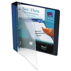 AVE10851 - Avery® See-Thru™ Round Ring View Binder