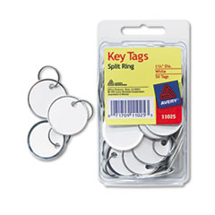 AVE11025 - Avery® Split Ring Key Tags