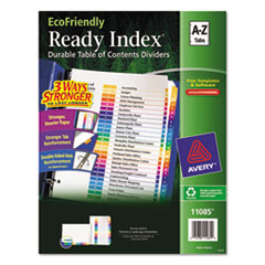 AVE11085 - Avery® EcoFriendly Ready Index® Table of Contents Dividers