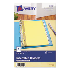 AVE11102 - Avery® WorkSaver® Insertable Tab Dividers